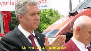 Başkan Akgün; İsrail'e Ateş Püskürdü..!