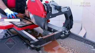 getlinkyoutube.com-RUBI DT 250 EVOLUTION Wet tile saw