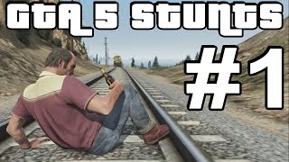 getlinkyoutube.com-GTA 5 Stunts #1 (GTA V Crashes, Deaths, Fails and more)