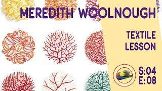 getlinkyoutube.com-Fine art tips with Amazing Free Textile Lessons with Meredith Woolnough on Colour In your Life