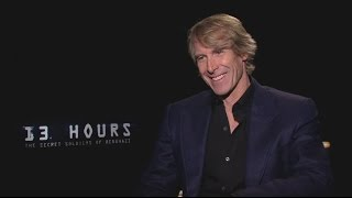getlinkyoutube.com-Michael Bay on '13 Hours' and Future 'Transformers' Movies
