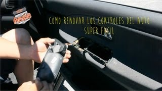 getlinkyoutube.com-RENUEVA LOS CONTROLES PLASTICOS DE TU AUTO SUPER FACIL, DIY