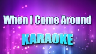Green Day - When I Come Around (Karaoke version with Lyrics)