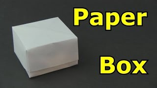 getlinkyoutube.com-How to Make a Paper Box -Origami-