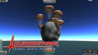 getlinkyoutube.com-KlerikReturns to KSP - Asteroid Splash Down