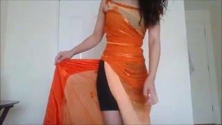 getlinkyoutube.com-HOW TO MAKE A SAREE DRESS