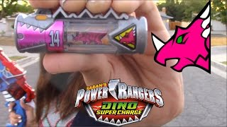 getlinkyoutube.com-Power Rangers Dino Super Charge Dino Cupid Charger