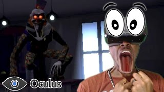 getlinkyoutube.com-VR SCARIEST CLOWN |  Play With Me Oculus Rift REACTION