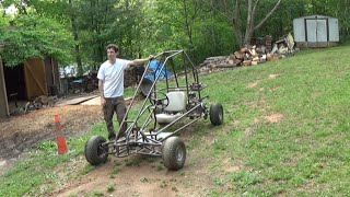 getlinkyoutube.com-testing the two motor off road go kart