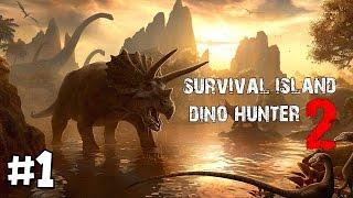 getlinkyoutube.com-เกมมือถือเอาชีวิตรอด+ล่าไดโนเสาร์สุดมันส์! | Survival island2 : Dino Hunter (เกมมือถือ) #1