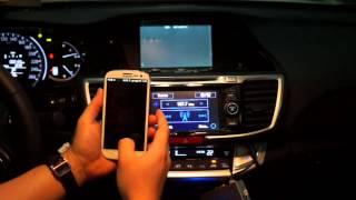 getlinkyoutube.com-Honda Accord 2014 Mirroring Galaxy Android
