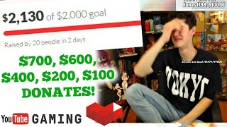 Extremely EMOTIONAL Donation REACTIONS - We're going to NYC!!!