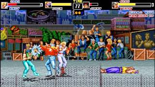getlinkyoutube.com-[Gameplay] Fatal Fury Final (OpenBor MOD)