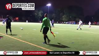 San Lazaro gana juego de ida al Deportivo 55 Liga Latinoamericana
