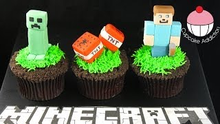 getlinkyoutube.com-MINECRAFT Cupcakes - Let's Play Minecraft... in Cup Cake form!
