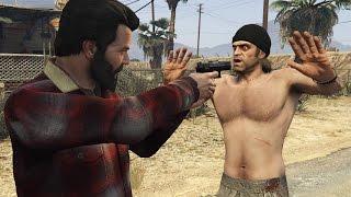 getlinkyoutube.com-GTA V Michael gets Revenge on Trevor
