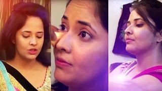 getlinkyoutube.com-Anchor Anasuya  At Makeup Room | Anchor Anasuya Exclusive Video