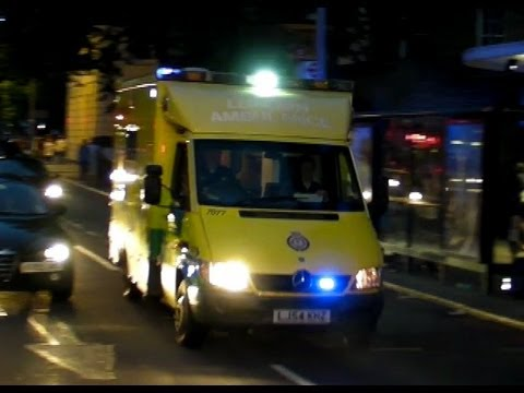 London Ambulance Service Responding at Night