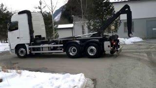 getlinkyoutube.com-volvo fh LKW camion-truck scarrabile vrachtwagen lastbil caminhão 卡車 Lastväxlare
