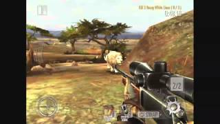 getlinkyoutube.com-Deer Hunter 2014 - White Lion Hunting - North Africa Region