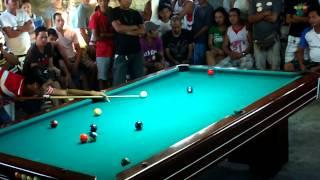 "getlinkyoutube.com-Efren ""Bata"" Reyes VS Michael Feliciano (Binan Pagsanjan Laguna) 1st match"