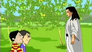 getlinkyoutube.com-Tales of Panchatantra - The Goose With The Golden Eggs - Funny Animated Hindi Stories