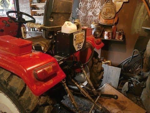Самодельный ящик для мини трактора