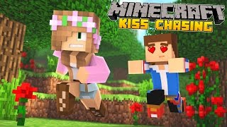 getlinkyoutube.com-Minecraft - Little Kelly Adventures : KISS CHASING WITH MY BOYFRIEND!