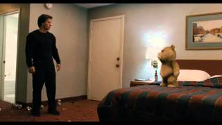 Ted Fight Scene