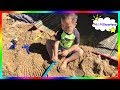 Kids at Sand Harbor Lake Tahoe, swimming - sandy beach, Kids video toy review.