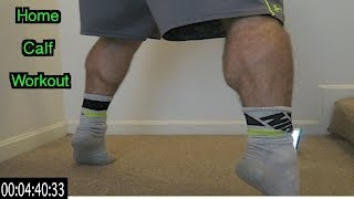 Intense 5 Minute At Home Calf Workout