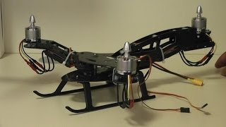 getlinkyoutube.com-HJ-Y3 Tricopter Review - Part 1 A look at the build