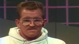 getlinkyoutube.com-Günther Jauch im Gespräch mit Michael Edwards alias Eddie the Eagle 1988