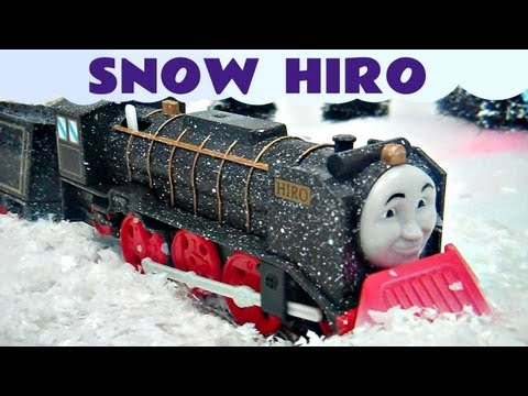 Thomas The Tank Engine Thomas and Friends Snow Clearing Hiro Trackmaster