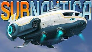 getlinkyoutube.com-Subnautica - SUNBEAM RESCUE SHIP UP CLOSE, PLANETARY QUARANTINE