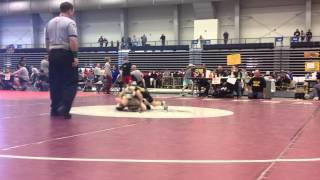 getlinkyoutube.com-Luke wrestling Stevo - Gene Mills Eastern Nationals 4/7/12