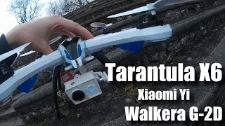 getlinkyoutube.com-Tarantula X6 with Walkera G-2D: TEST FLIGHT