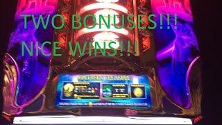 getlinkyoutube.com-**NICE WINS!** - Northern Treasure Slot Machine Bonus (2 Videos)