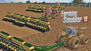Mapa Brasil Sul | Plantadeira Tatu Usap 27 linhas - Farming Simulator 2015 + Logitech G27!!