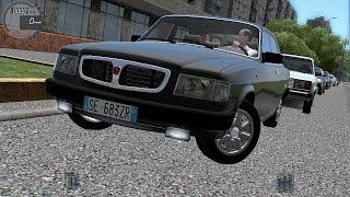 getlinkyoutube.com-City Car Driving 1.5.2 ГАЗ 3110 [G27]