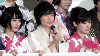 getlinkyoutube.com-橋本愛、大後寿々花ら女優陣が号泣/『桐島、部活やめるってよ』初日