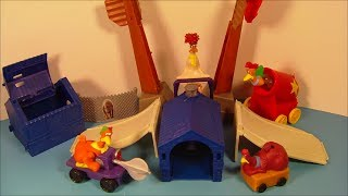 getlinkyoutube.com-2000 CHICKEN RUN SET OF 4 BURGER KING KID'S MEAL MOVIE TOY'S VIDEO REVIEW