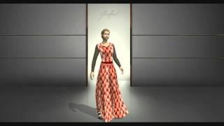 getlinkyoutube.com-Marvelous Designer Fashion Show