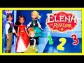 ELENA OF AVALOR + Frozen Elsa and Anna Surprise Puzzle Search Video
