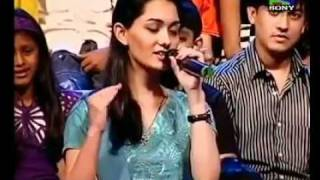 Rahman Stunted Performance By North Indian Girl Sings Tamil Song Movies share