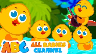 getlinkyoutube.com-Five Little Ducks | Nursery Rhymes and Kids Songs | Songs for Children  |