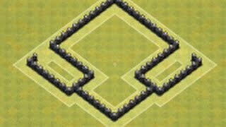 getlinkyoutube.com-EPIC+BEST Town Hall Level 4 Hybrid Base for Clash of Clans
