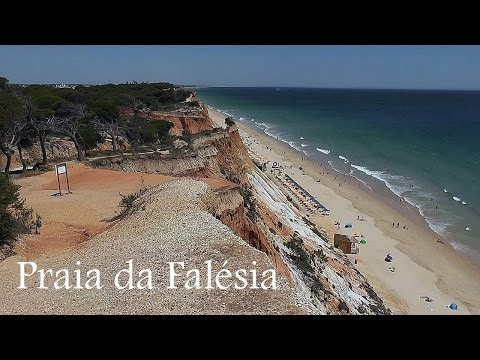 ALGARVE: Praia da Falésia, beach (Portugal) HD