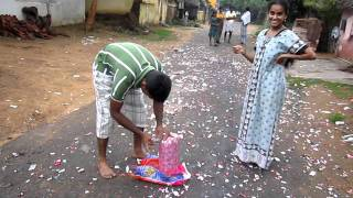 getlinkyoutube.com-HAPPY DIWALI (BOMB -  LOCAL MADE)