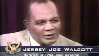 getlinkyoutube.com-Joe Louis vs Jersey Joe Walcott, I & II